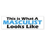 Masculist Bumper Sticker (50 pk)