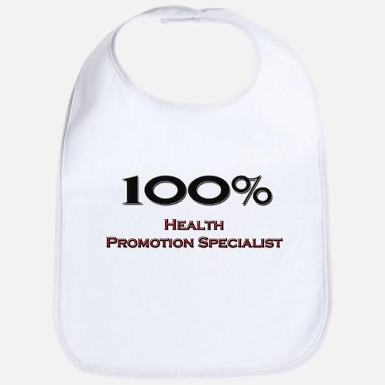 100 Percent Health Promotion Specialist Bib