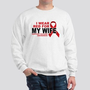 Red For Wife Sweatshirt