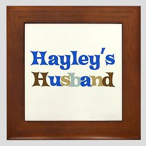 Hayley's Husband Framed Tile