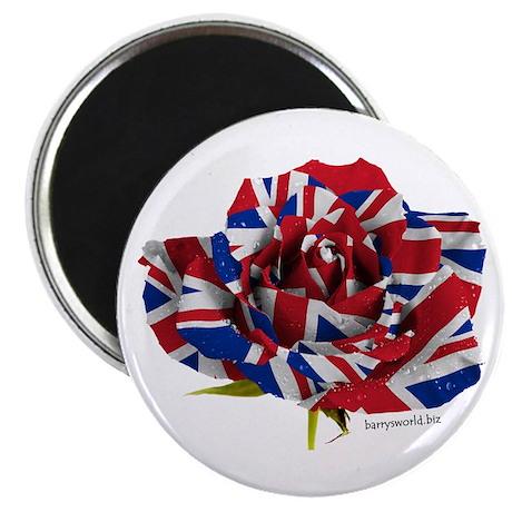 "British Rose 2.25"" Magnet (100 pack)"