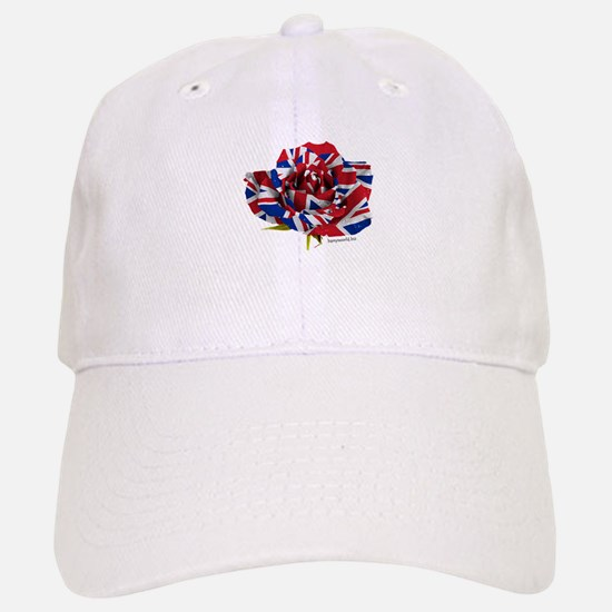 British Rose Baseball Baseball Cap