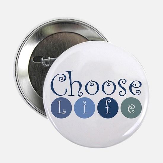 "Choose Life (circles) 2.25"" Button (10 pack)"
