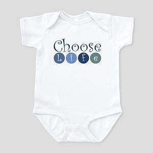 Choose Life (circles) Infant Bodysuit