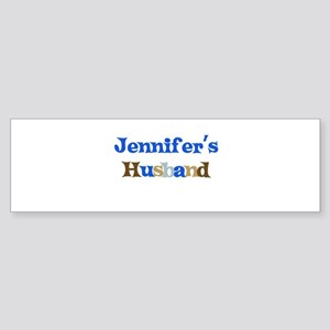 Jennifer's Husband Bumper Sticker