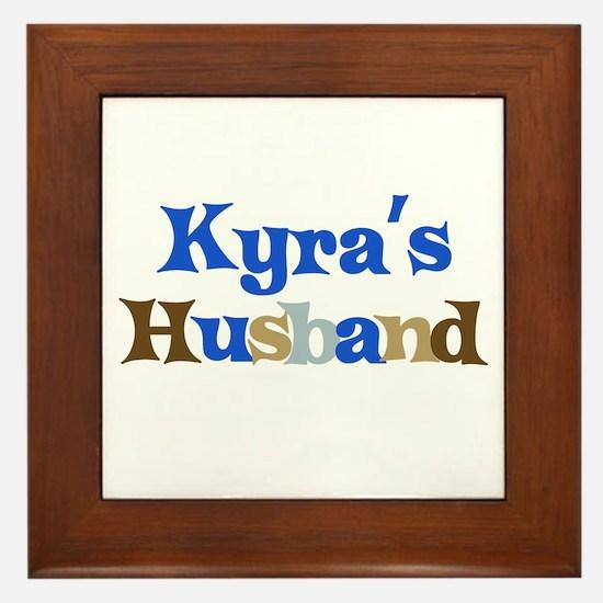 Kyra's Husband Framed Tile