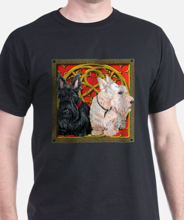 Scottish Terriers Celtic Dogs T-Shirt