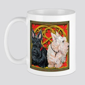 Scottish Terriers Wheaten Cel Mug