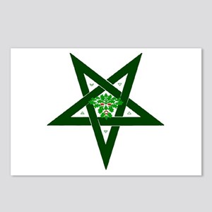 PAGAN STAR GREENMAN Postcards (Package of 8)