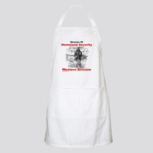 Into The West, with Geronimo BBQ Apron