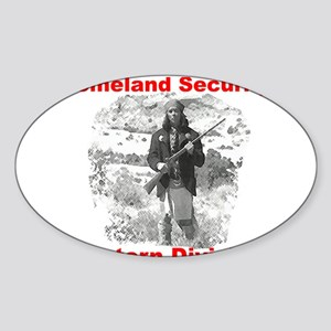 Into The West, with Geronimo Oval Sticker