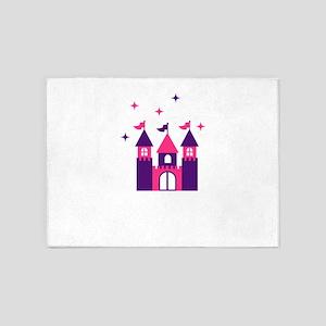 Fairy Castle 5'x7'Area Rug