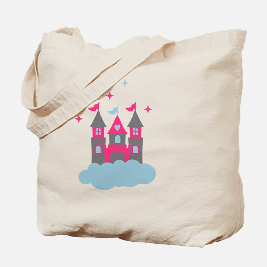 Fairy Castle in the Clouds Tote Bag
