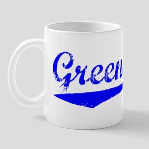 Vintage Greensboro (Blue) Mug
