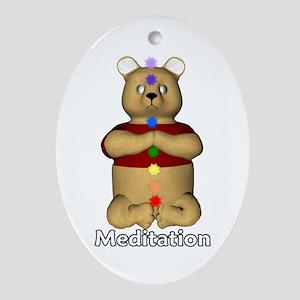 Meditation Oval Ornament