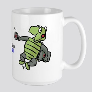 Jumping Tortoise Large Mug