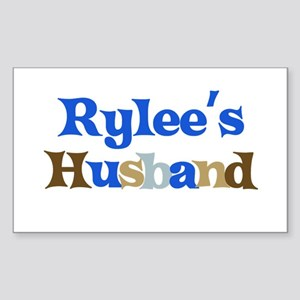 Rylee's Husband Rectangle Sticker