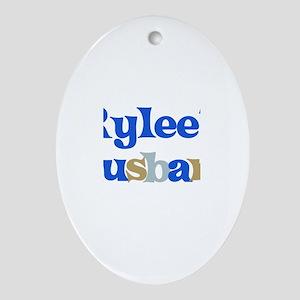 Rylee's Husband Oval Ornament