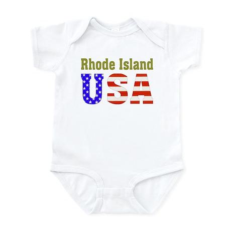 Rhode Island USA Infant Bodysuit