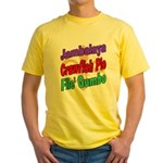 Jambalaya, Crawfish Pie, File Yellow T-Shirt