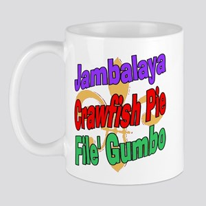 Jambalaya, Crawfish Pie, File Mug