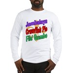 Jambalaya, Crawfish Pie, File Long Sleeve T-Shirt