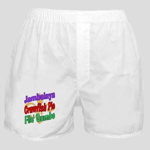 Jambalaya, Crawfish Pie, File Boxer Shorts