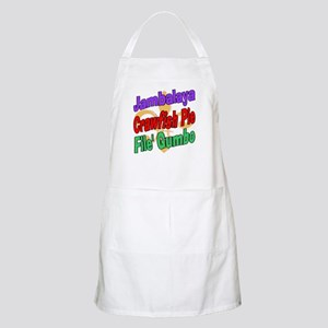 Jambalaya, Crawfish Pie, File BBQ Apron