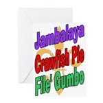 Jambalaya, Crawfish Pie, File Greeting Card