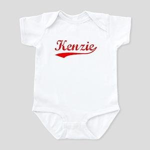 Vintage Kenzie (Red) Infant Bodysuit