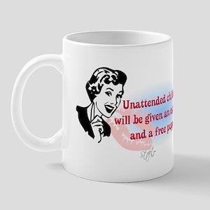 Sarcastic Children Quote Mug