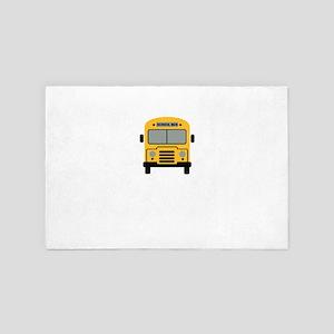 School Bus 4' x 6' Rug