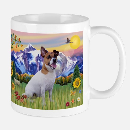 Mt Country & Jack Russell Terrier Mug