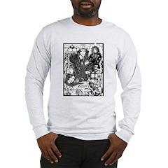 PAZ PRISON COLLAGE 96 Long Sleeve T-Shirt