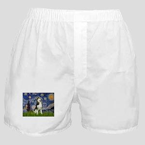 Starry Night & Husky Boxer Shorts
