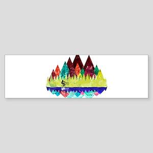 MTB Aqua Trails Bumper Sticker