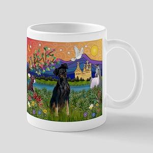 Fantasy Land & Min. Pinscher Mug