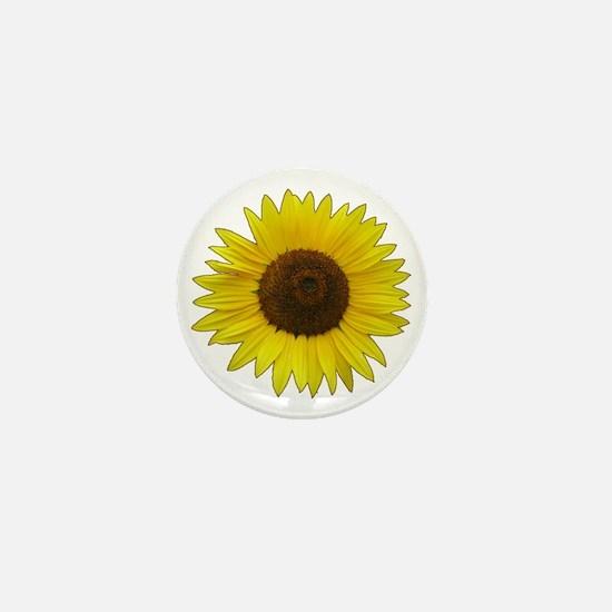 Helaine's Sunflower Mini Button
