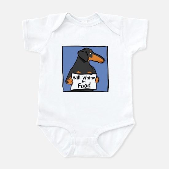 Will Whine BT Weinerdog Infant Bodysuit