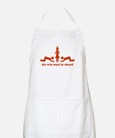 She Who Must Be Obeyed BBQ Apron