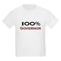 100 Percent Governor T-Shirt