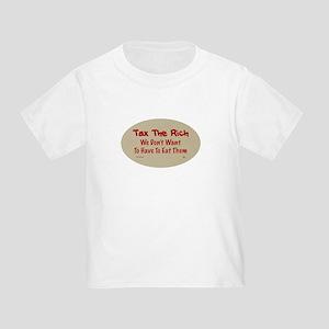 Tax The Rich Toddler T-Shirt