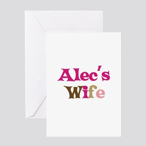 Alec's Wife Greeting Card