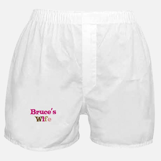 Bruce's Wife Boxer Shorts