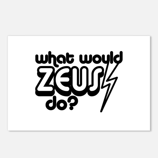 What Would Zeus Do? Postcards (Package of 8)