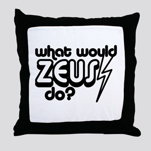 What Would Zeus Do? Throw Pillow