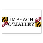 Impeach O'Malley Rectangle Sticker 10 pk)