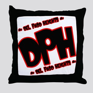 DEL PASO HEIGHTS (DPH) -- T-S Throw Pillow