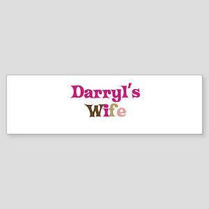 Darryl's Wife Bumper Sticker