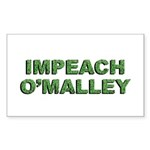 Impeach O'Malley Rectangle Sticker 50 pk)